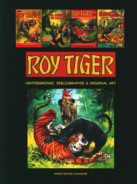 Roy Tiger Buch HC