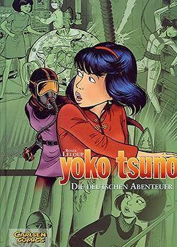 Yoko Tsuno Sammelband (Carlsen, B.) Nr. 1-4 zus. (Z1-)