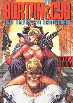 Burton & Cyb (Edition Kunst der Comics, B.) Nr. 1-3 kpl. (Z0-2)
