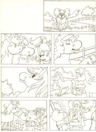 Originalzeichnung (0520) Rabauke und Rübe
