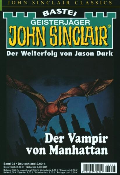 John Sinclair Classics 93