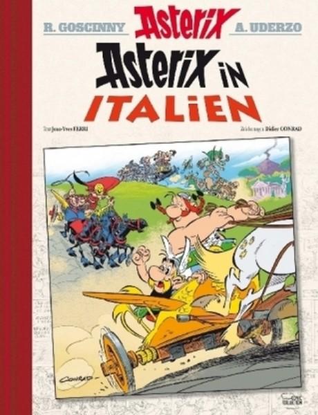 Asterix HC 37: Asterix in Italien Luxusausgabe