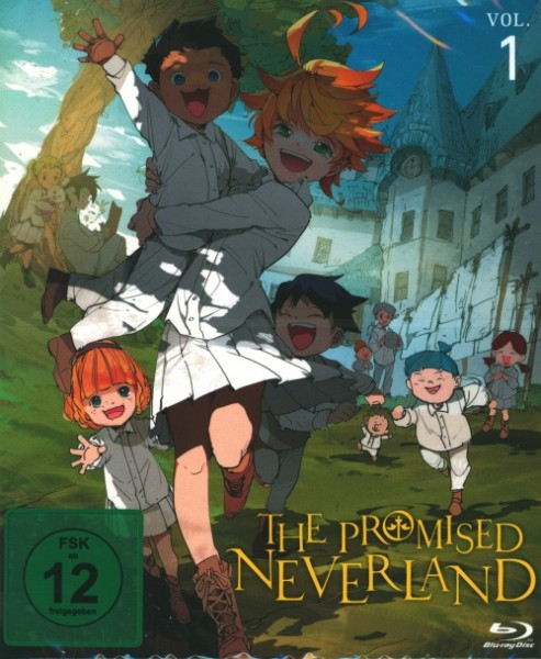 Promised Neverland Vol. 1 Blu-ray