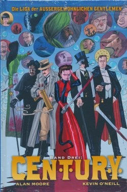 Liga der außergewöhnlichen Gentlemen (Panini, B.) Century Trilogie Hardcover