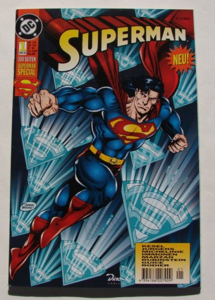Superman Special (Dino, Gb.) Nr. 1-15 kpl. (Z1)
