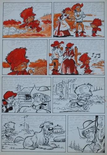 Originalzeichnung (0191) Kleiner Pfadfinder