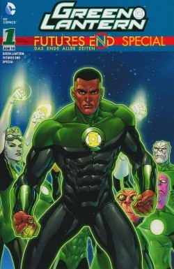Green Lantern Futures End Special 01 Variant München 2015