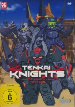 Tenkai Knights Vol. 6 DVD