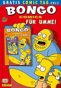 Gratis Comic Tag 2011: Bongo Comics für Umme