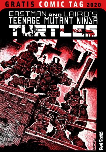 Gratis Comic Tag 2020: TEENAGE MUTANT NINJA TURTLES (05/20)