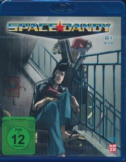 Space Dandy Vol.4 Blu-Ray
