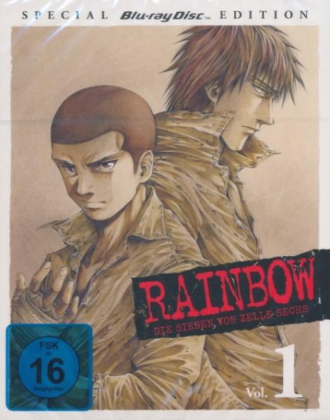 Rainbow: Die Sieben von Zelle Sechs - Vol 1 Special Edition Blu-ray