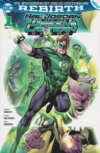 Hal Jordan und das Green Lantern Corps 1