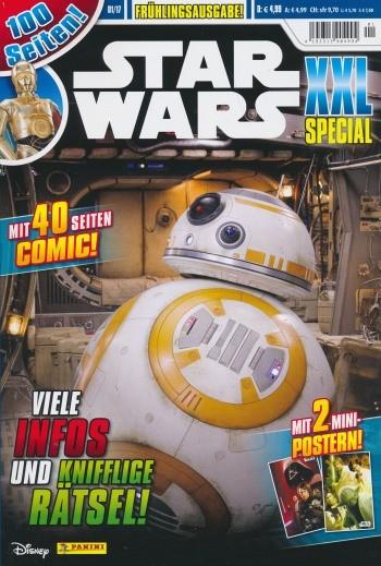 Star Wars Clone Wars Magazin (Dino, GbÜ) XXL Special 2017 Nr. 1