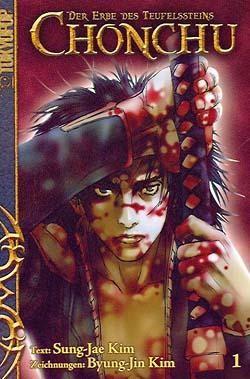 Chonchu (Tokyopop, Tb.) Der Erbe des Teufelssteins Nr. 1-9 zus. (Z2)