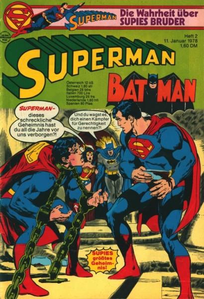 Superman (Ehapa, Gb.) Jahrgang 1978 Nr. 1-26