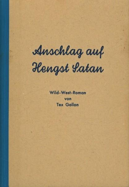Gollon, Tex Leihbuch Anschlag auf Hengst Satan (Bach)