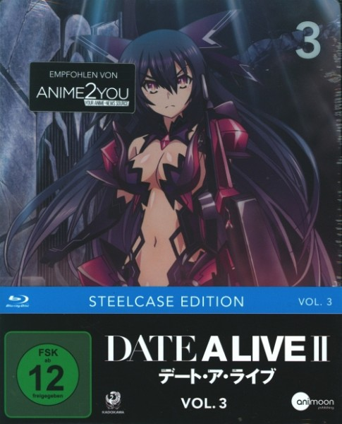 Date A Live II Vol. 3 (Steelcase Edition) Blu-ray