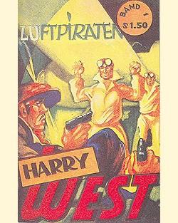 Harry West (Romanheftreprints) Nr. 1-4 (neu)