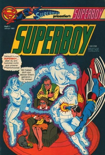 Superboy (Ehapa, Gb.) Jahrgang 1981 Nr. 1-13
