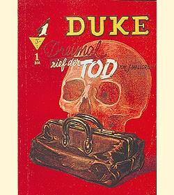 Duke (Romanheftreprints, Österreich) Nr. 1-9