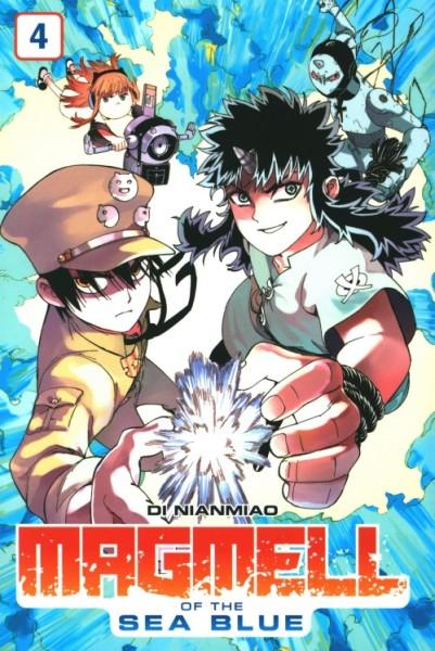 Magmell of the Sea Blue (Planet Manga, Tb.) Nr. 4
