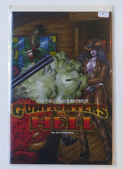 Gunfighters in Hell (EEE, Gb.) Variant Nr. 1-5 kpl. (Z1)