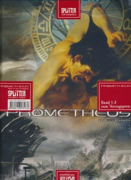 Splitter Adventspaket: Prometheus Band 1-3