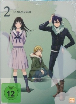 Noragami Vol. 2 DVD