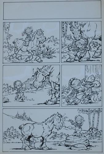 Originalzeichnung (0190) Oskar 2