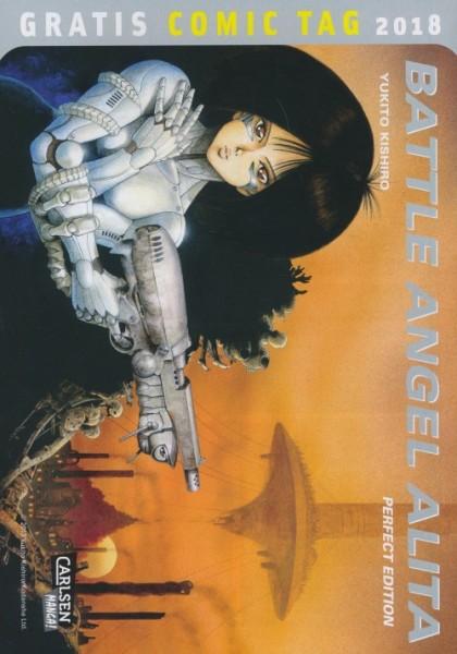 Gratis Comic Tag 2018: Battle Angel Alita