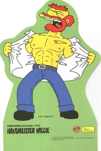 Simpsons-Aufsteller (Dino) 10 Hausmeister Willie