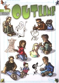 Outline (Thenextart, Gb.) Nr. 1-2