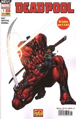 Deadpool (Panini, Gb., 2011) Nr. 1-17