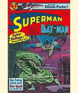 Superman (Ehapa, Gb.) Jahrgang 1977 mit Beilage Nr. 6-7, 10-21, 24
