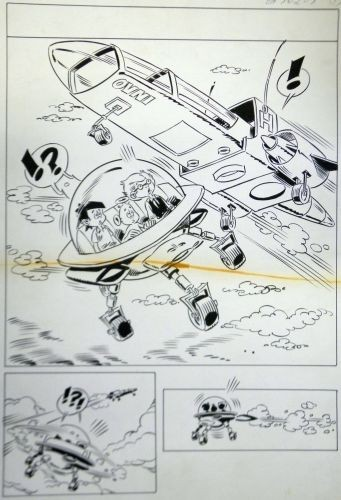 Originalzeichnung (0634) Kiko-2000 8 Seiten zus.