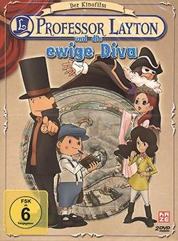 Professor Layton und die ewige Diva DVD Deluxe Edt.