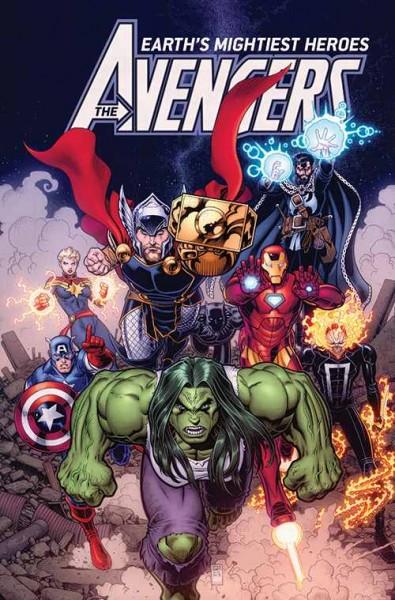Avengers (2019) 01 Variant C Marvel-Tag (01/19)