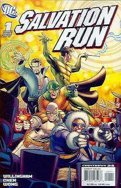 Salvation Run 1-7