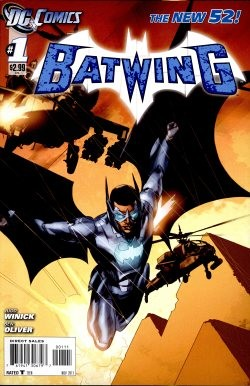 Batwing 1st Printing 1