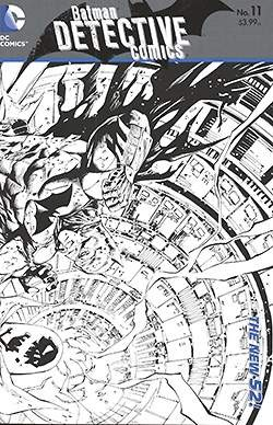 Detective Comics (2011) Black & White Variant 1:25 0-26