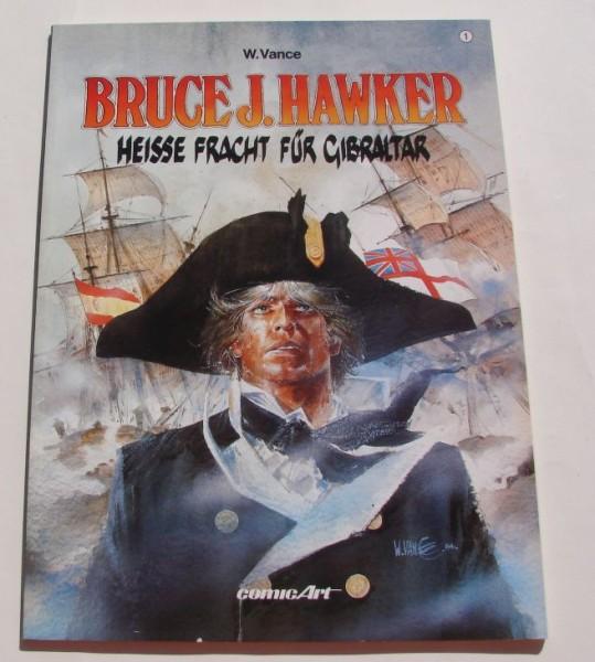 Bruce J. Hawker (Carlsen, Br.) Nr. 1-6 zus. (Z2)