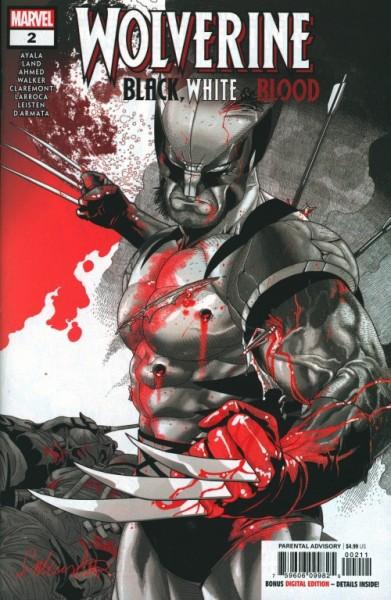US: Wolverine Black White & Blood 2