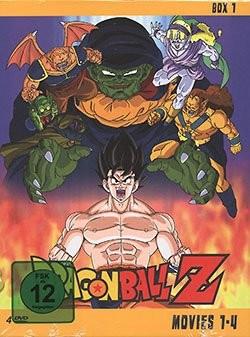 Dragon Ball Z Movies DVD-Box 1