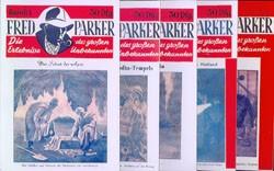 Fred Parker (Romanheftreprints) Nr. 1-8 kpl. (neu)