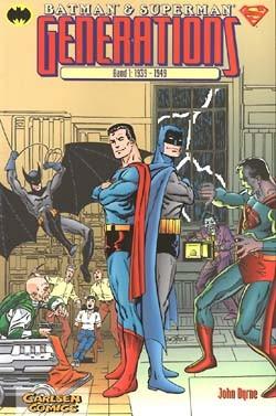 Batman & Superman Generations (Carlsen, Br.) Nr. 1-4 kpl. (Z2)