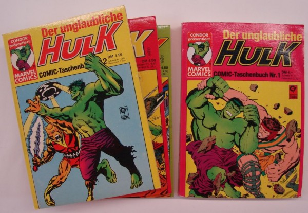 Hulk (Condor, Tb.) Nr. 1-47 kpl. (Z2-3)