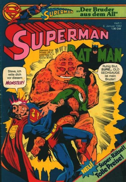 Superman (Ehapa, Gb.) Jahrgang 1982 Nr. 1-26
