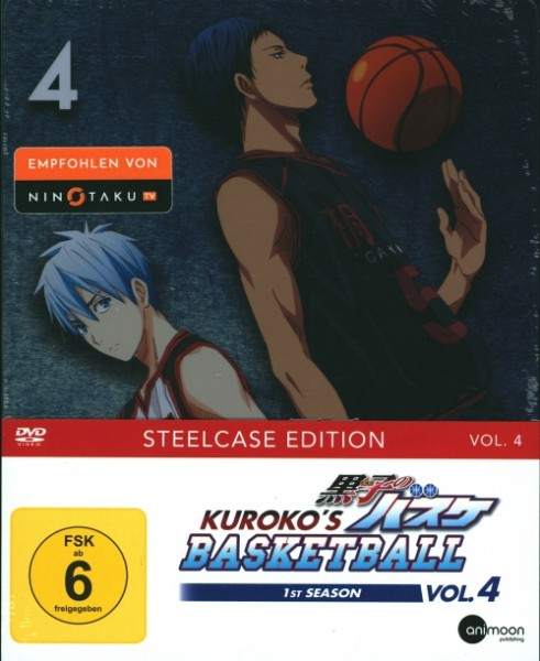Kuroko's Basketball 1st Season Vol. 4 DVD