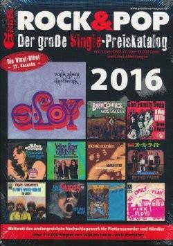 Rock & Pop Preis-Katalog Singles 2016